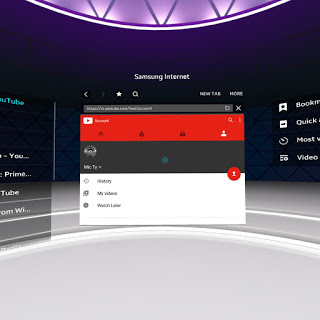 2c1c8c6314f0 Install the Samsung Internet browser app from the Oculus store. 2. Using  the Samsung Internet browser