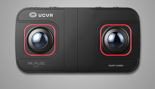 UCVR Eye is a camera that takes panoramic 3D photos or 360 panoramic ...