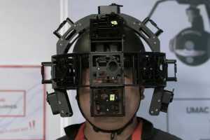 Varavon VR: a wearable 360 rig helmet with 17 cameras