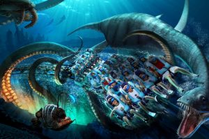 The latest theme park to add a VR roller coaster will be SeaWorld