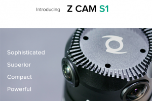 Z Cam S1 is a professional 360 video camera with 6k 30fps and 4k 60fps
