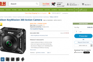 DEALS: Free shipping on Nikon Keymission 360; accessories for Nikon Keymission 360