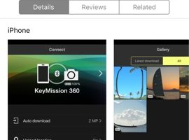 Nikon updates Keymission 360/170 app to fix bugs