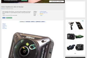 ePhotozine reviews the Nikon Keymission 360; rates it 4 out of 5 stars