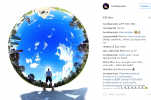 TECHNIQUE: Add a cool border to your tiny planet photo