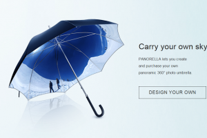 Print your 360 photo on an umbrella