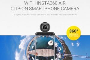 Insta360 Air's Indiegogo campaign has been successfully funded ... after just one day!
