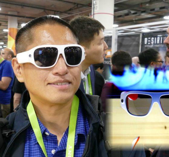 Orbi Prime are wearable 4K 360 camera sunglasses