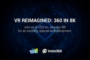 Insta360 will reveal the 8k Insta360 Pro at CES