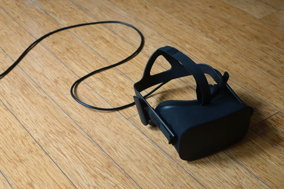 Oculus Rift tip: set it up to face away from your PC