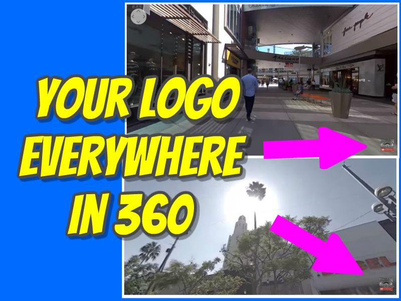 Put your logo everywhere in a 360 video