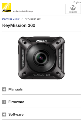 Nikon issues firmware and app update for the Keymission 360 - 360 Rumors