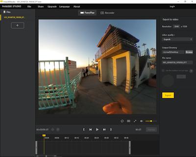 Insta360 Studio app updated