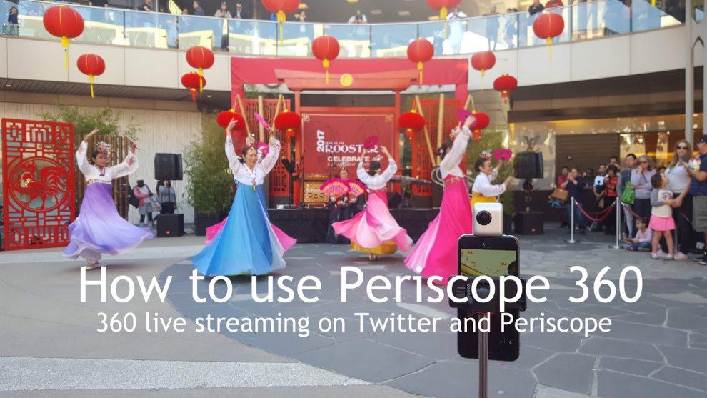 TUTORIAL: How to do a 360 live stream