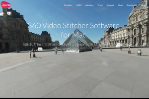 Samsung Gear 360 stitcher and 360 video editor for the Mac