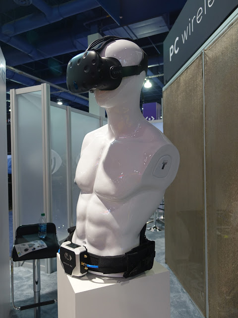CES2017: Hands-on with wireless HTC Vive by IMR