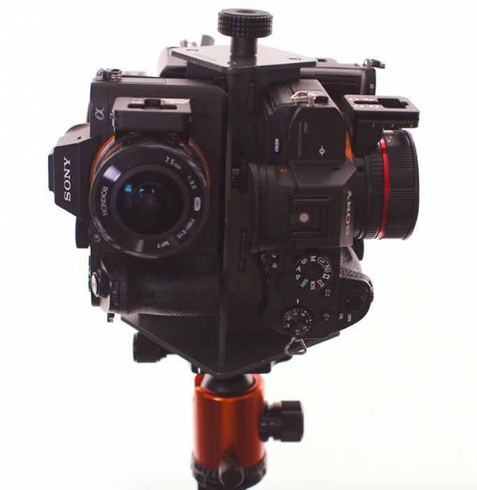 Excalibur: a 360 camera rig for Sony A7S and other full frame ...