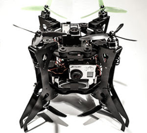 If You Imagine A 6 Camera GoPro Rig With Propellers Youd Be Looking At The Spherie German Made Drone Designed Specifically For Aerial 360 Videos