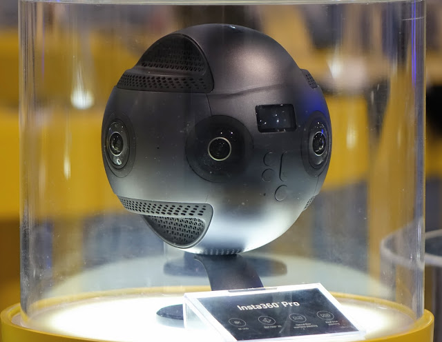 """First Lok"" at Insta360 Pro, an 8k 360 camera"