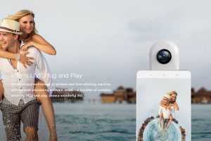 Zmer Live is a 360 camera accessory for Android phones