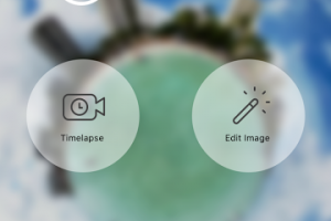 Ricoh Theta app update adds new image editing features