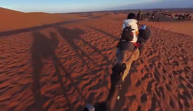 New video from Z Cam S1 in the Sahara desert
