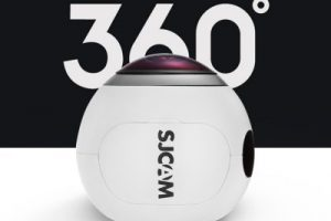SJ360 hemispherical 360 camera with sony sensor