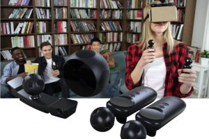 Today is the last chance to preorder Nolo VR, an accessory that can add six degrees of freedom and motion controllers to mobile VR headsets for just $99, enabling you to play 700+ games for HTC Vive ($799; reviewed here) and other SteamVR games. A lot of people who try desktop VR systems such as the HTC Vive or Oculus Rift VR are impressed, but not all of them go on to purchase a Vive or Rift, largely because of the cost. The Vive is $799 and the Rift is $499 plus $99 for the Oculus Touch controllers. Even the Playstation VR, currently the most affordable desktop VR system, costs $399 for the headset by itself ($499 for the Launch bundle that has the required accessories). In my opinion, the Vive, Rift and PSVR are all worth their cost, but if you don't play enough games, then it's hard to justify the cost. That's where the Nolo VR comes in. The Nolo VR is a set of accessories that can enable you to use almost any mobile VR headset, such as Samsung Gear VR or even just Google Cardboard, to play games for the HTC Vive. But instead of spending hundreds of dollars on a desktop VR system, the Nolo costs only $99, and mobile VR headsets can cost as little as $20. I've tried Nolo VR at CES and it did work, although the performance was compromised due to interference on the show floor. Nolo has since uploaded literally dozens of videos to demonstrate that their system works. Check out this playlist: Of course, the performance won't be as good as the Vive, Rift or PSVR, but for a fraction of the cost of a desktop VR system, you can get modest VR performance with 6 degrees of freedom and motion tracked controllers. And for casual users (as opposed to hardcore gamers), this may be just the right balance of performance versus cost. Please note that to use Nolo VR to play Steam VR games, you will also need RiftCat (there's a package that includes RiftCat for an extr $10 instead of $15). In addition, PC also has to be VR-ready: - Processor: at least Intel i5-4590 or equivalent - at least 8GB RAM - a VR-ready graphics card (I've been using the GTX 1060 6GB, one of the more affordable VR-ready cards). Nolo VR is $99, which includes: - the headset marker tracking peripheral with mount - a base station - two motion controllers - charging cable, a 4m USB cable, and a 25cm USB cable. There's also a package for $109 which includes everything above plus RiftCat / VRidge, the software required to run Steam VR games with your mobile VR headset. Nolo VR is scheduled to be shipped May 2017 (if you order it with the RiftCat code, you should receive the code as soon as the campaign ends tomorrow). RELATED POSTS: Oculus Rift review: Oculus Touch review: the Wait is Over HTC Vive review Playstation VR review Samsung Gear VR (2016) review: the best version of the Gear VR to date Samsung Gear VR review: why it's much better than Google Cardboard Google Daydream hands-on impressions