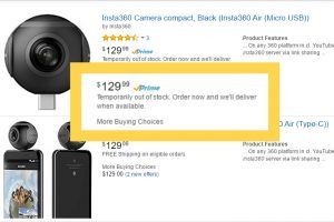 Out of Air: Insta360 Air now sold out at Amazon! Here's where to find it