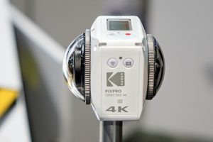Get a ticket to NAB Show (worth $185) for FREE, compliments of Kodak PIXPRO; hints at Orbit360 launch