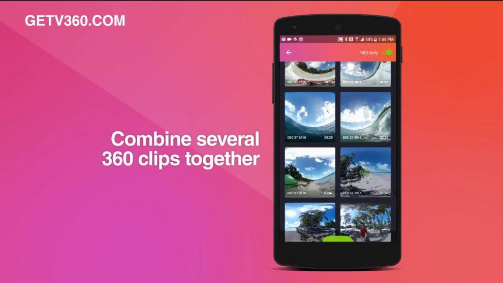 V360 360 video editing app