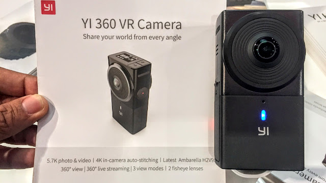 Yi 360 VR camera with 5.7K video resolution