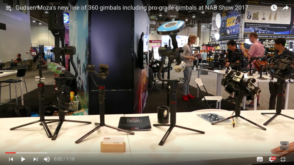 Gudsen Moza has two new 360 gimbals