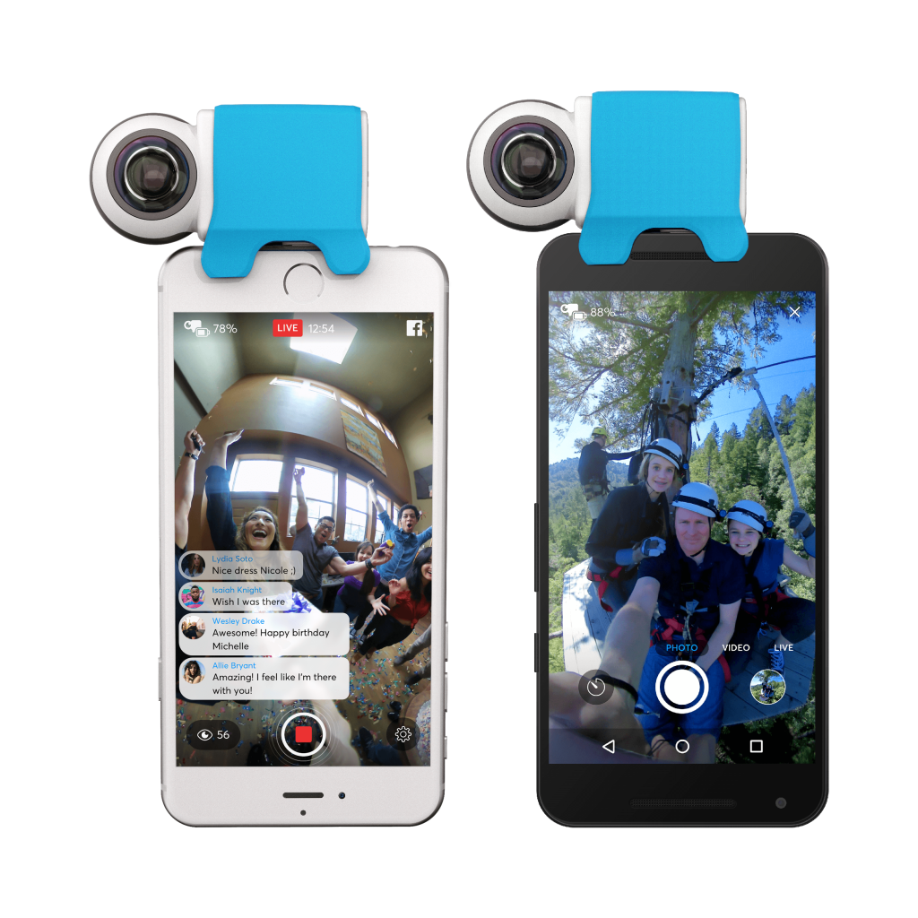 Giroptic iO now available for both iOS and Android!