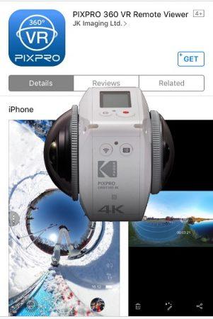 Kodak Orbit360 app for Android and iOS