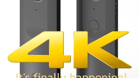 Ricoh Theta 4K is real