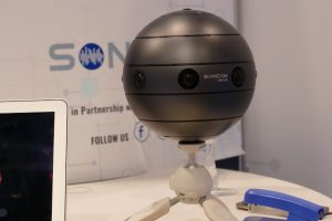 Sonicam 3D or 2D 360 camera with 3D spatial audio at NAB 2017