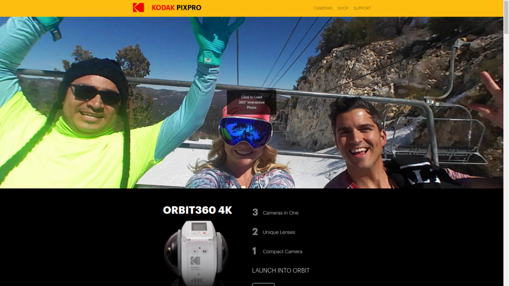 the new Orbit360 (4KVR360) mini site