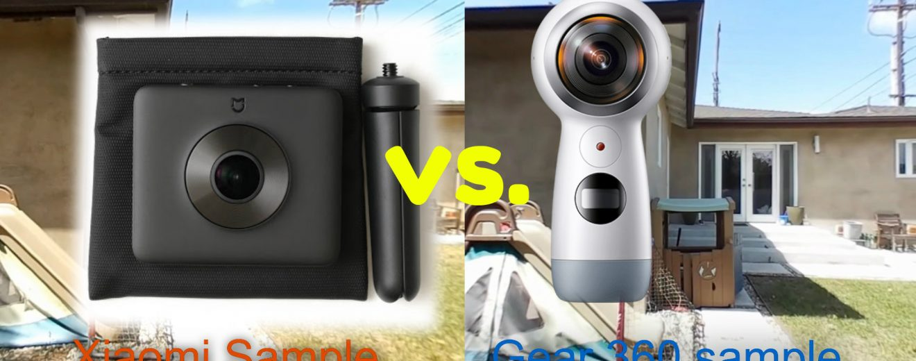 Comparison review: Xiaomi Mi Sphere 360 camera vs. 2017 Samsung Gear 360