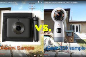 Comparison review: Xiaomi Mi Sphere 360 camera vs. 2017 Samsung Gear 360