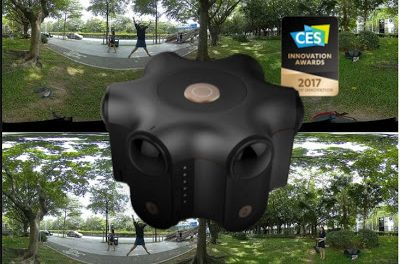 Kandao Obsidian 6K 3D 360 video sample