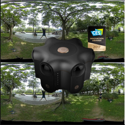 Kandao Obsidian 6K 3D 360 video sample