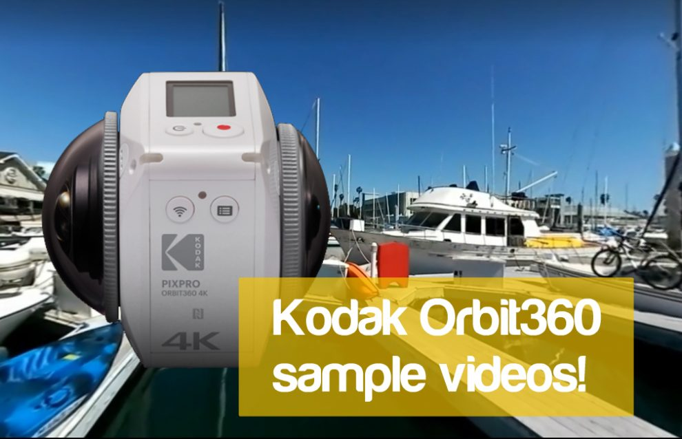 Kodak Orbit360 sample videos