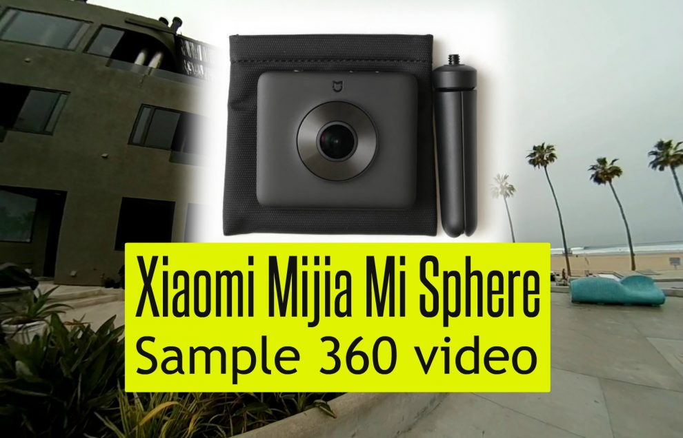 Xiaomi first impressions sample video