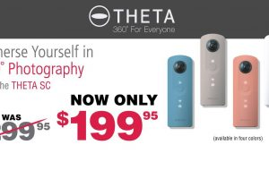 Ricoh Theta SC price drop