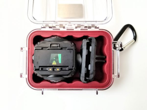 The perfect camera case for Garmin Virb 360