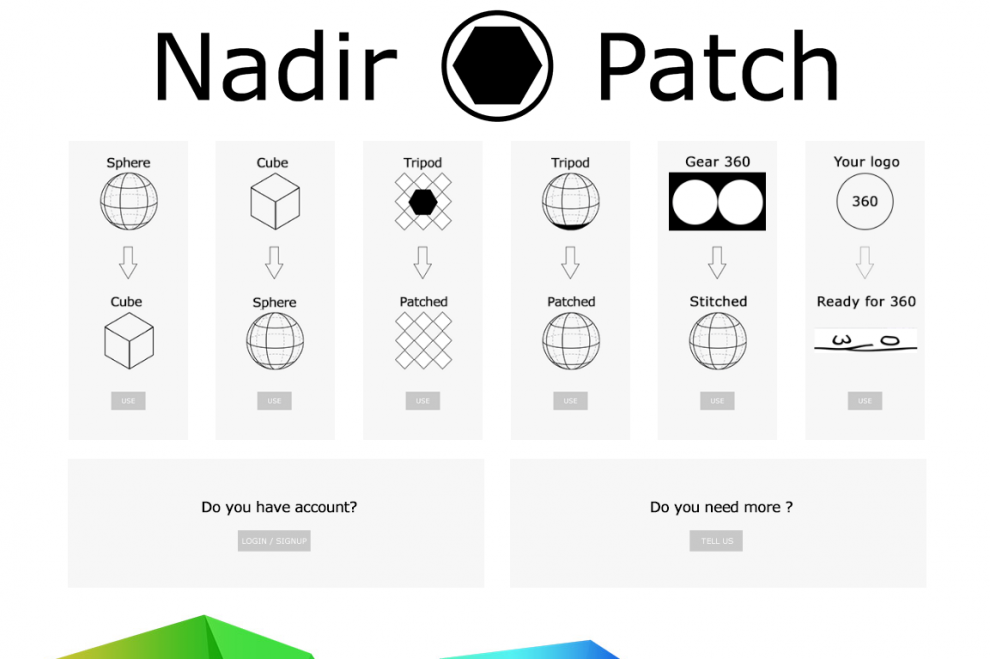 NadirPatch.com stitches Samsung Gear 360 photos for free