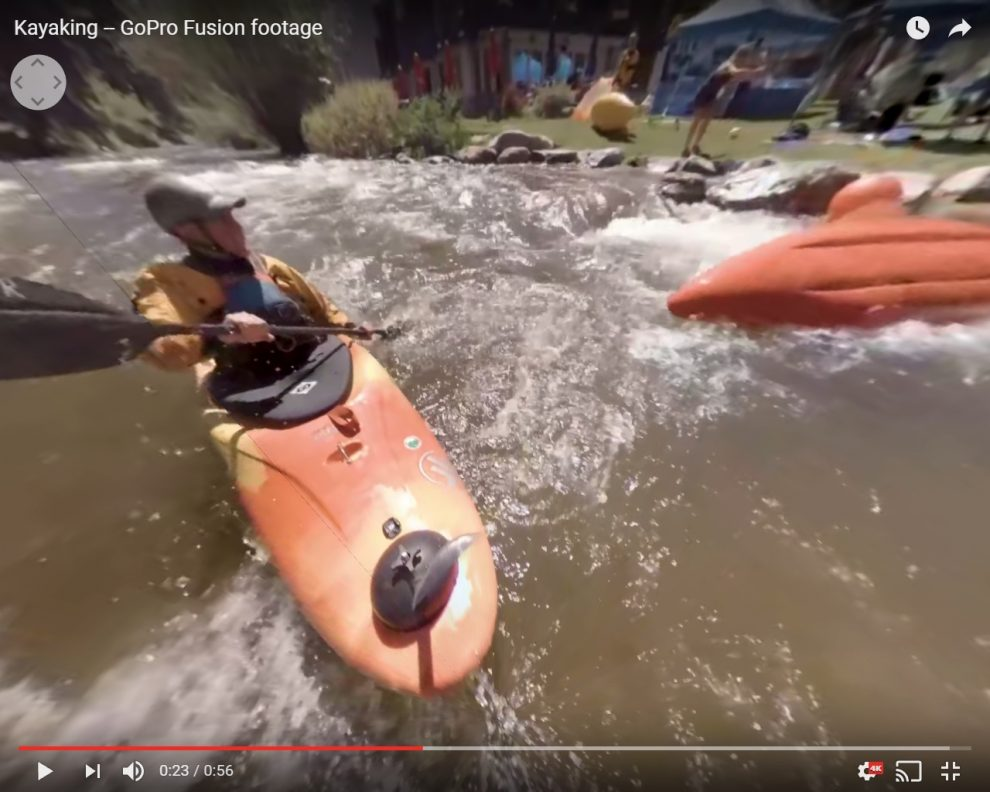 GoPro Fusion user sample 360 videos