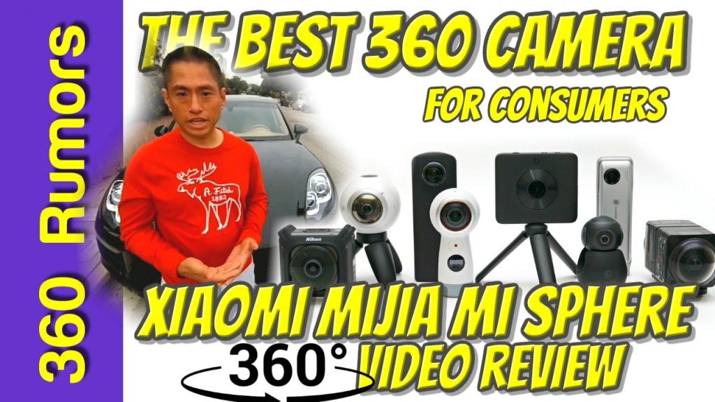 Xiaomi Mijia Mi Sphere 360 camera detailed in-depth review