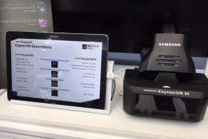 Samsung ExynosVR III standalone VR headset